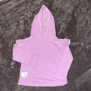 GUC cat & Jack 3T lavender hoodie